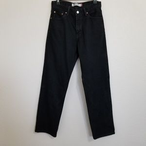 Levi's Relaxed Fit 550 Black Jeans 30X30